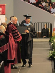 Rick Von Linsowe Graduation
