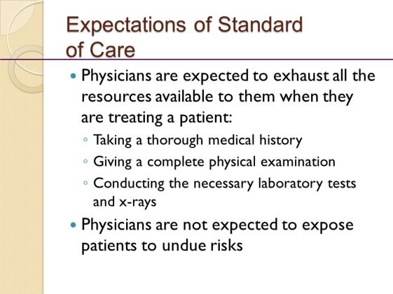 Expectations+of+Standard+of+Care