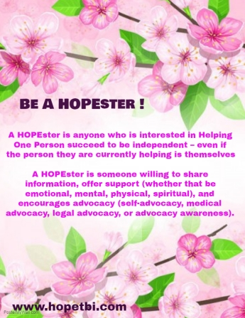 Copy of Be A HOPEster Flyer