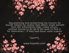 HOPE TBI History