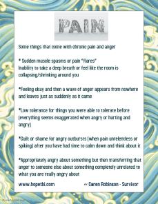 pain things
