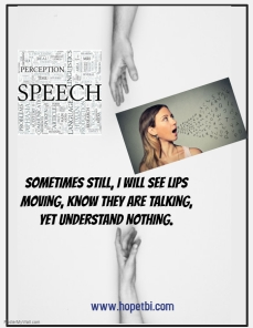 Speech nothings