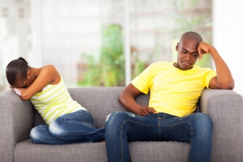 black-couple-sad